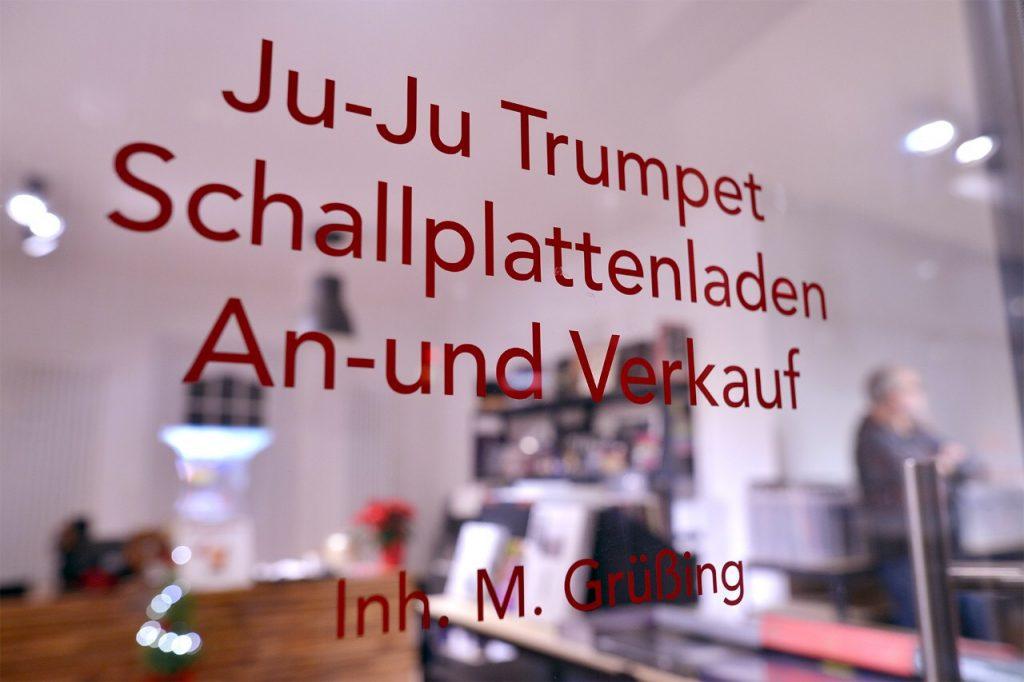 Ju-Ju Trumpet Schallplattenladen ind Hamburg-Eppendorf, Erikastraße 50